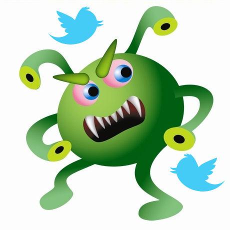 Virus en Twitter