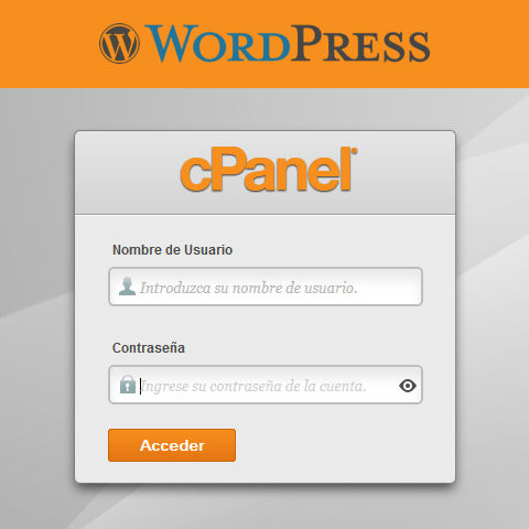 Instalar WordPress con cPanel