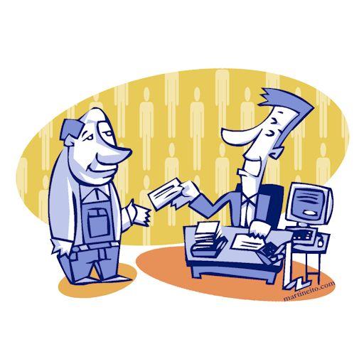 Empleado con sueldo fijo