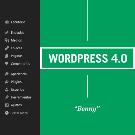 Menu de navegacion de WordPress