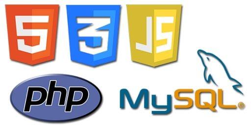 HTML + CSS + JS + PHP + MySQL