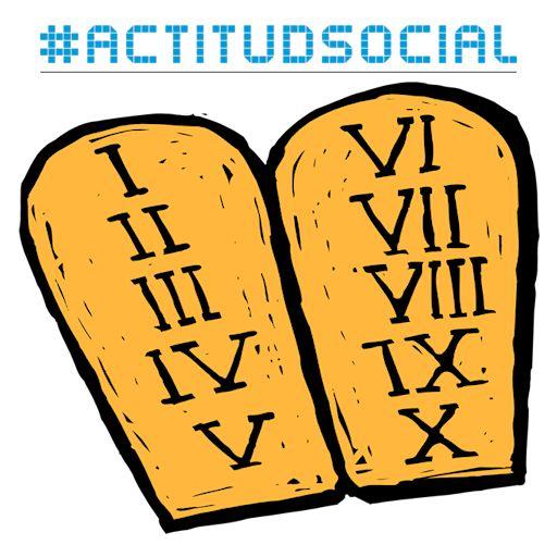 Los mandamientos de la actitud social